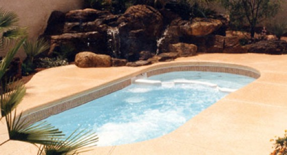 Swim Spa W Waterfall 2 Hot Tubs Spas Saunas